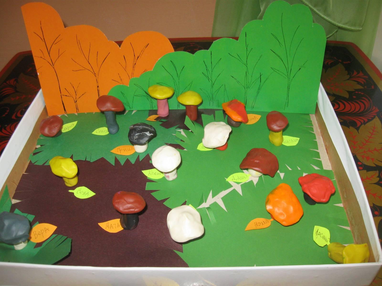 Поделки на тему ягоды и грибы 84